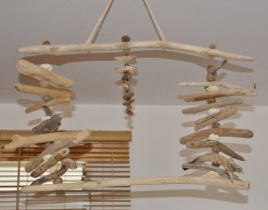 Bois flott la cabane nature for Plafonnier en bois flotte